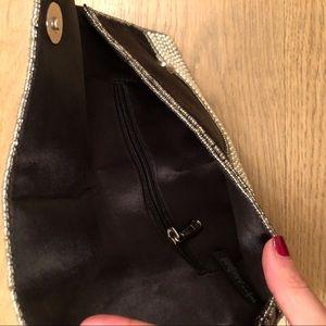 Bags - Pearl Beaded Folded Clutch